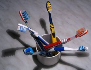 electric and manual toothbrush